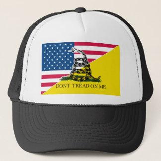アメリカ人およびガズデンの旗 キャップ