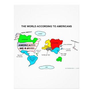 アメリカ人に従う世界 チラシ