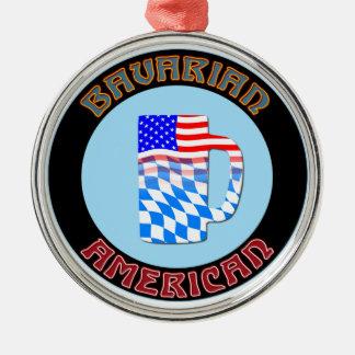 アメリカ人のステインのバイエルンのオーナメント メタルオーナメント