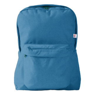 アメリカ人のApparel™のバックパック、ロイヤルブルー American Apparel™バックパック