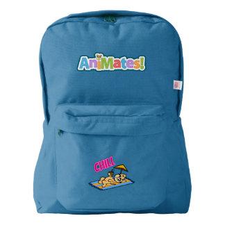アメリカ人のApparel™の冷たいバックパック、ロイヤルブルー American Apparel™バックパック