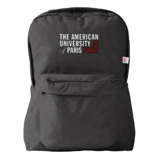 アメリカ人のApparel™の黒いバックパック American Apparel™バックパック