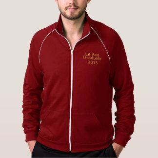 アメリカ人のAppearl Fleeseのジャケットのクランベリーの白 ジャケット