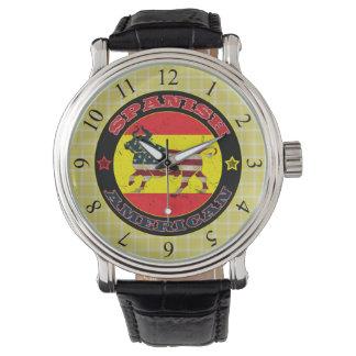 アメリカ人のBullのスペインのな腕時計 腕時計