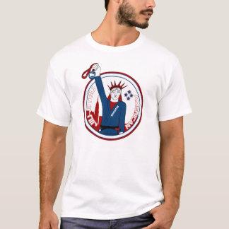 アメリカ人のJiuJitsuのワイシャツ Tシャツ