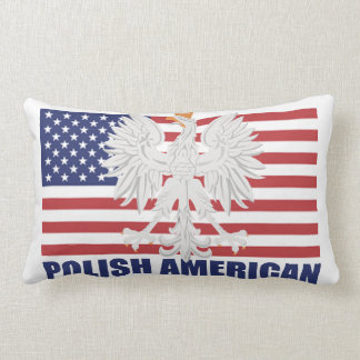 アメリカ人のMoJoのポーランドの枕 ランバークッション