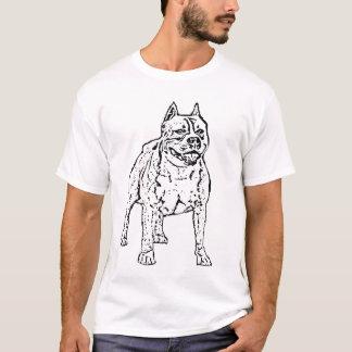 アメリカ人のStoffordshireテリアのTシャツ Tシャツ