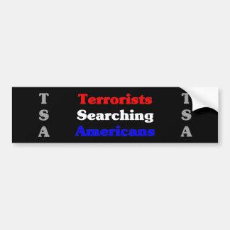 アメリカ人を捜しているテロリスト バンパーステッカー