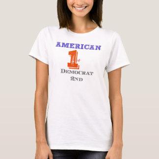 アメリカ人第1 Tシャツ