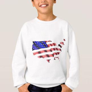 アメリカ人Flag.jpg スウェットシャツ