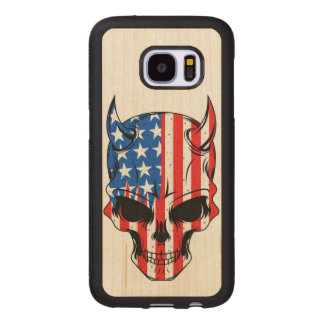 アメリカ人Hellion ウッドSamsung Galaxy S7 ケース