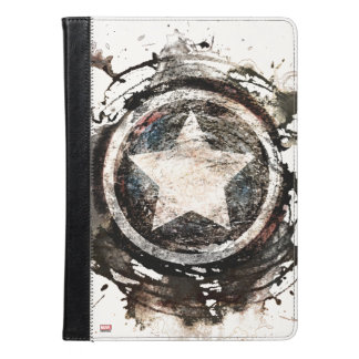 アメリカ大尉のグランジな盾 iPad AIRケース