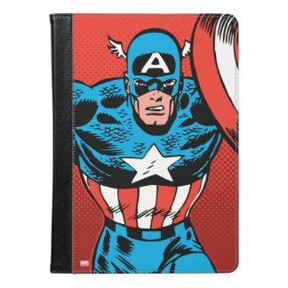 アメリカ大尉のジャンプ iPad AIRケース