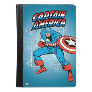 アメリカ大尉のレトロの価格のグラフィック iPad AIRケース