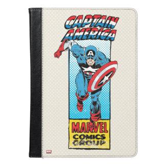 アメリカ大尉のレトロの喜劇的な役 iPad AIRケース