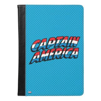 アメリカ大尉の一流のロゴ iPad AIRケース