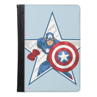 アメリカ大尉の星のグラフィック iPad AIRケース
