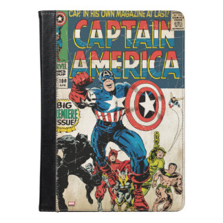 アメリカ大尉の漫画#100 iPad AIRケース