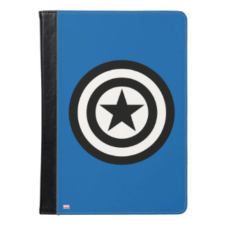 アメリカ大尉の盾アイコン iPad AIRケース
