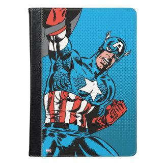 アメリカ大尉の盾 iPad AIRケース