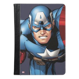 アメリカ大尉は集まっています iPad AIRケース