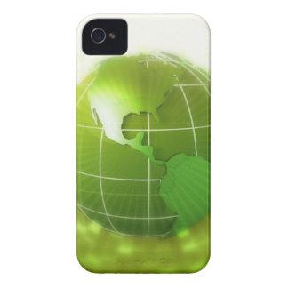 アメリカ大陸に焦点を合わせられる Case-Mate iPhone 4 ケース