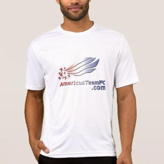 アメリカ大陸のチームFC -ロゴ色2 Tシャツ
