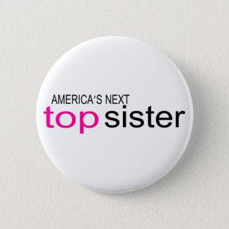 アメリカ大陸の次の上の姉妹 5.7CM 丸型バッジ