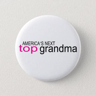 アメリカ大陸の次の上の祖母 5.7CM 丸型バッジ