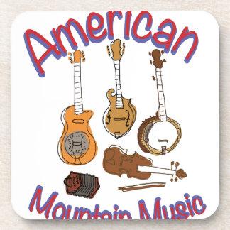 アメリカ山音楽 コースター