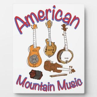 アメリカ山音楽 フォトプラーク