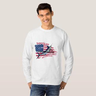 アメリカ手形の漁師 Tシャツ