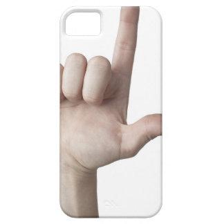 アメリカ手話25 iPhone SE/5/5s ケース