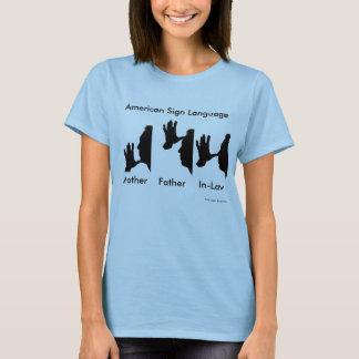 アメリカ手話-レッスン1 Tシャツ
