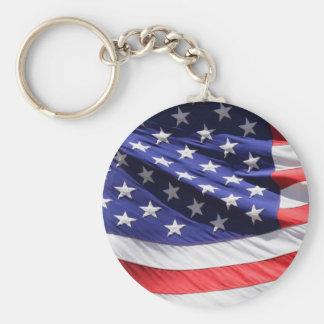 アメリカ旗テンプレート キーホルダー