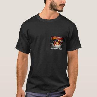 """アメリカ旗2a、神、銃および""""Gals """" Tシャツ"""