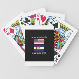 """""""アメリカ生まれ。コロラド州は""""旗のデザインを繁殖させました バイスクルトランプ"""