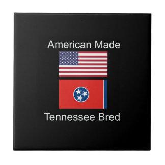 """""""アメリカ生まれ。テネシー州は""""旗のデザインを繁殖させました タイル"""