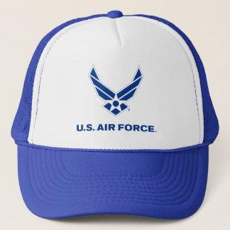 アメリカ空軍のロゴ-青 キャップ