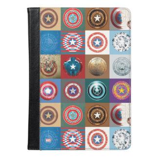 アメリカ第75大尉記念日の盾のパッチワーク iPad AIRケース