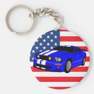 アメリカ筋肉車 キーホルダー