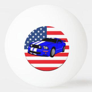 アメリカ筋肉車 卓球ボール