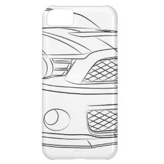 アメリカ筋肉車 iPhone5Cケース