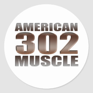 アメリカ筋肉302 ラウンドシール
