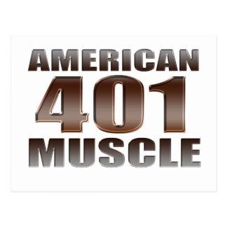 アメリカ筋肉401 nailhead ポストカード