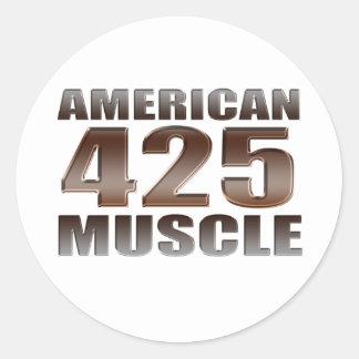 アメリカ筋肉425 nailhead ラウンドシール