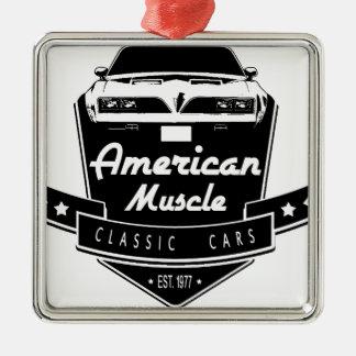 アメリカ筋肉 メタルオーナメント