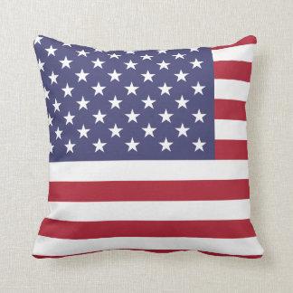 アメリカ米国の旗愛国心が強い7月4日 クッション