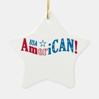 アメリカ米国! カスタムなオーナメント セラミックオーナメント