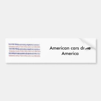 アメリカ車ドライブアメリカ バンパーステッカー